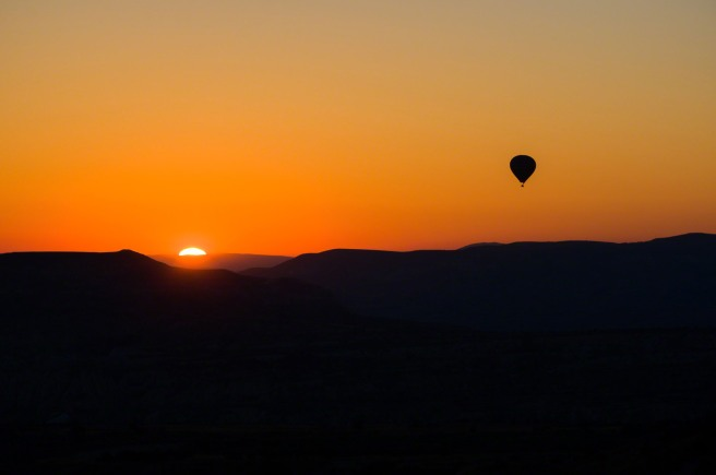Sunrise Launch Over Cappadocia